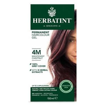 Herbatint Permanent Hair Colour 4M Mahogany Chestnut 150ml