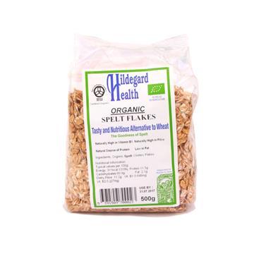 Hildegard Health Organic Spelt Flakes 500g