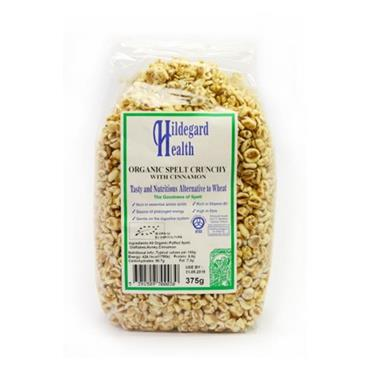 Hildegard Health Organic Spelt Crunchy with Cinnamon 375g