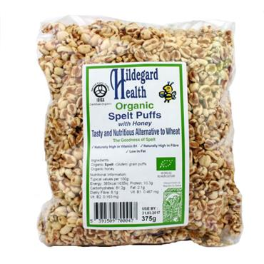 Hildegard Health Organic Spelt Puffs with Honey 375g