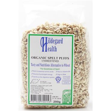Hildegard Health Organic Spelt Puffs Unsweetened 200g