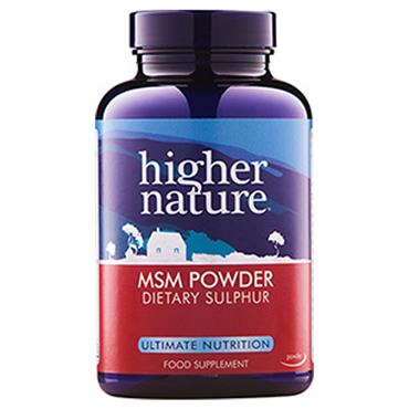Higher Nature MSM Powder 1200mg
