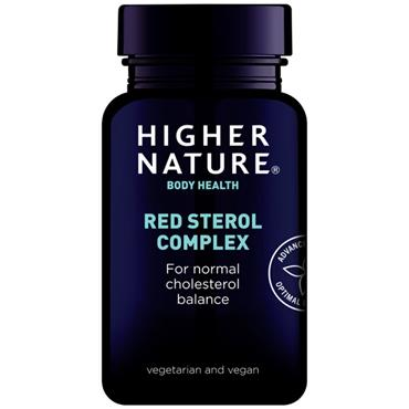 Higher Nature Red Sterol Complex Tablets 90s