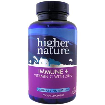 Higher Nature Immune+ 90 Tablets
