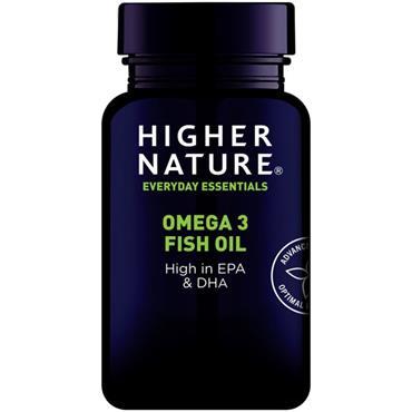 Higher Nature Omega 3 1000mg Capsules 90s