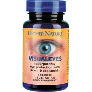 Higher Nature Visual Eyes 90 Capsules