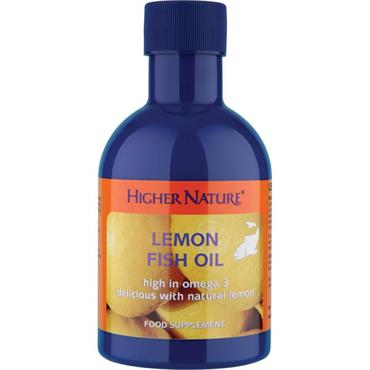 Higher Nature Lemon Fish Oil 200ml