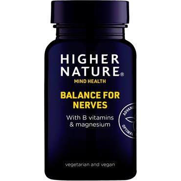 Higher Nature Balance For Nerves Capsules 90s