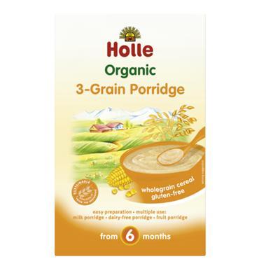 Holle Organic Baby 3 Grain Porridge 250g