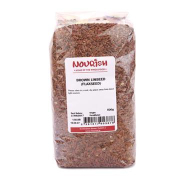 Nourish Brown Linseed 500g