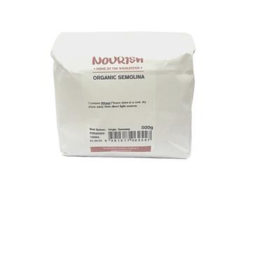 Nourish Organic Semolina 500g