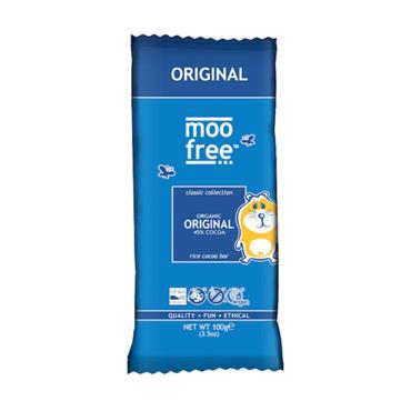 Moo Free Dairy Free Chocolate Bar 100g