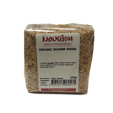 Nourish Organic Sesame Seeds 250g