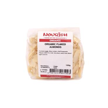 Nourish Organic Flaked Almonds 100g