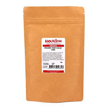 Nourish Organic Raw Cacao Nibs 250g