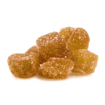 Nourish Organic Crystalized Ginger 125g