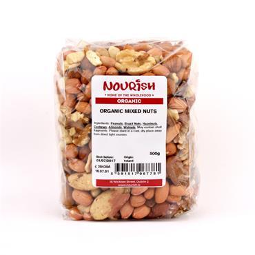 Nourish Organic Mixed Nuts 500g
