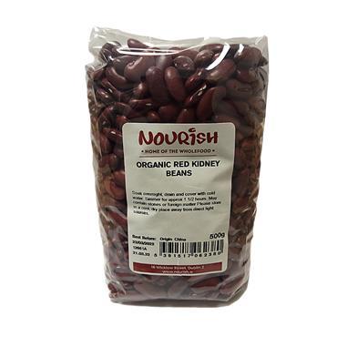 Nourish Organic Red Kidney Beans 500g