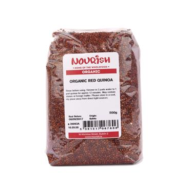 Nourish Organic Red Quinoa 500g