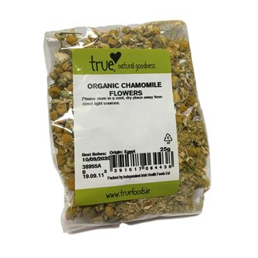 True Natural Goodness Organic Chamomile Flowers 25G