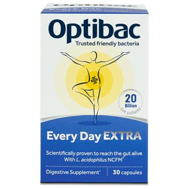 Optibac Live cultures for Every Day Extra Strength 30s