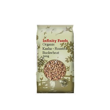 Infinity Organic Kasha (Roasted Buckwheat) 500g