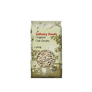 Infinity Organic Oat Groats 500g