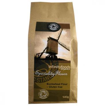 Infinity Foods  Organic Gluten Free Buckwheat Flour 500g