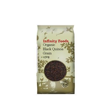 Infinity Organic Black Quinoa 450g