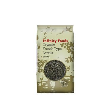 Infinity Organic French Lentils 500g