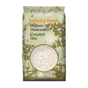 Infinity Organic Desiccated Coconut 250g