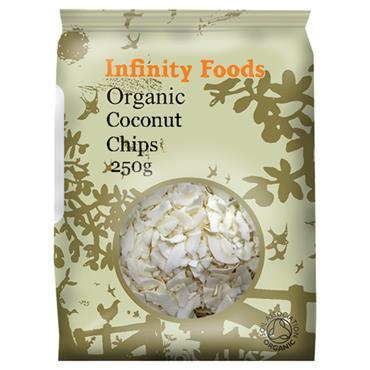 Infinity Organic Coconut Chips 250g