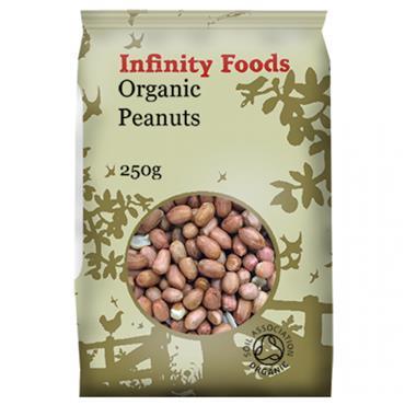 Infinity Organic Peanuts 250g