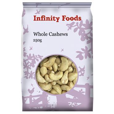Infinity Whole Cashews 250g