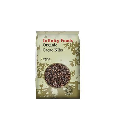 Infinity Organic Raw Cacao Nibs 250g