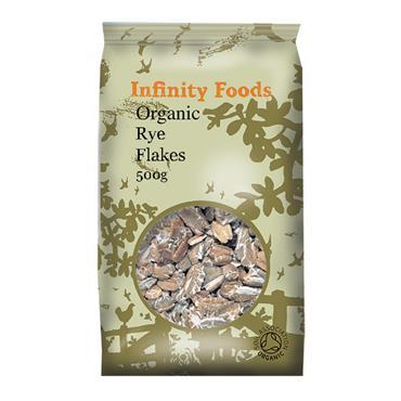 Infinity Organic Rye Flakes 500g