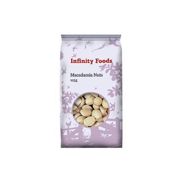 Infinity Macadamia Nuts 125g