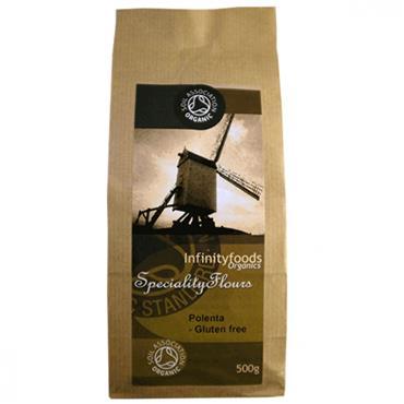 Infinity Organic Gluten Free Polenta Flour 500g