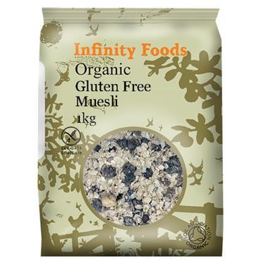 Infinity Organic Gluten Free Muesli 1kg