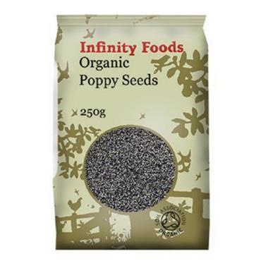 Infinity Foods  Organic Poppy Seeds 250g