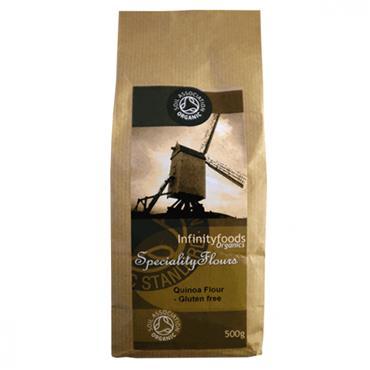 Infinity Organic Gluten Free Quinoa Flour 500g