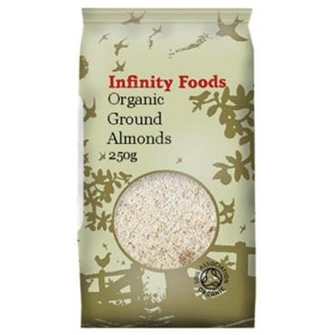 Infinity Organic Ground Almonds 250g