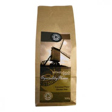 Infinity Foods  Organic Gluten Free Coconut Flour 500g