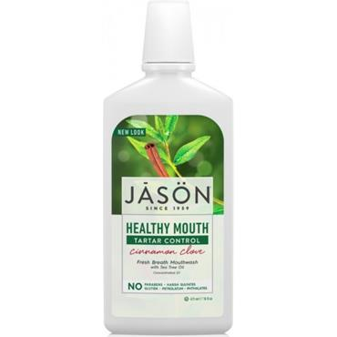 Jason Healthy Mouth Tartar Control Cinnamon Clove Mouthwash 480ml