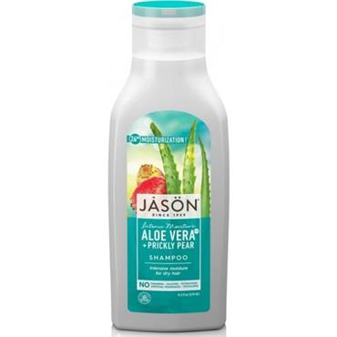 Jason Moisturizing 84% Aloe Vera + Prickly Pear Shampoo 473ml
