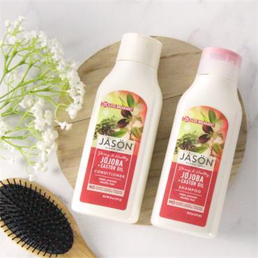 Jason Long & Strong Jojoba Shampoo 454g