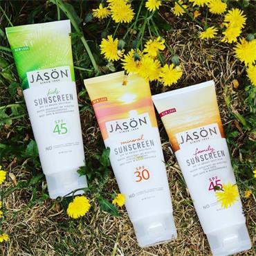 Jason Family Natural Sun Cream SPF 45 113g