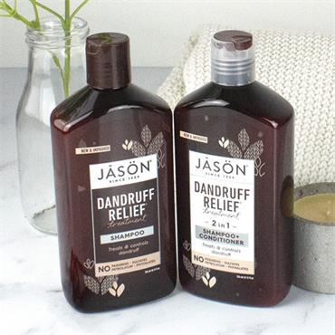 Jason Dandruff Relief 2-in-1 Treatment Shampoo & Conditioner 355ml