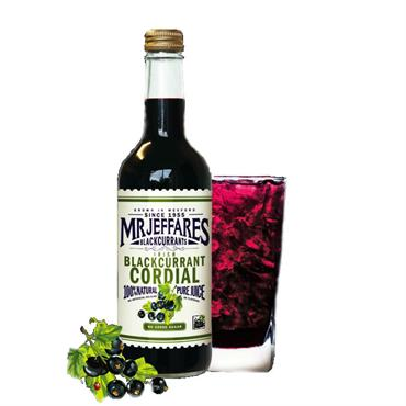 Mr Jeffares Blackcurrant Cordial 500ml