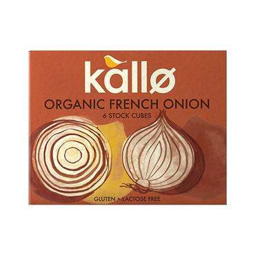 Kallo Organic French Onion Stock Cubes - 6 stock cubes